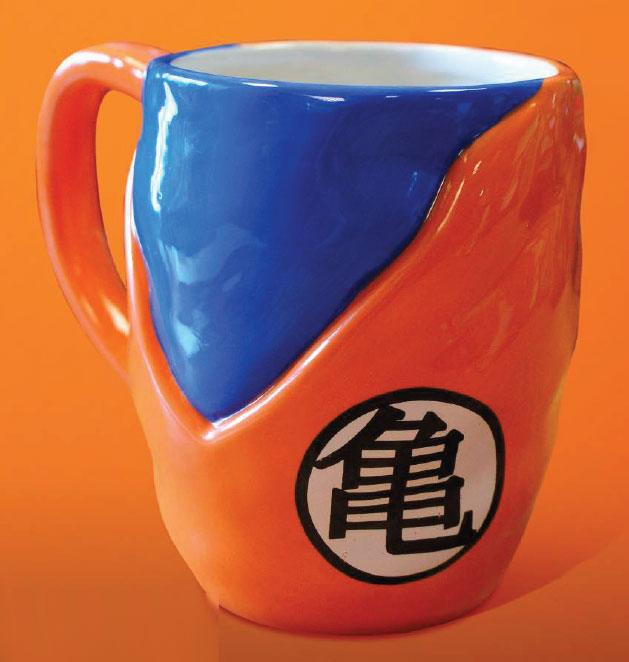 Photo du produit DRAGON BALL Z MUG 3D GOKU GI