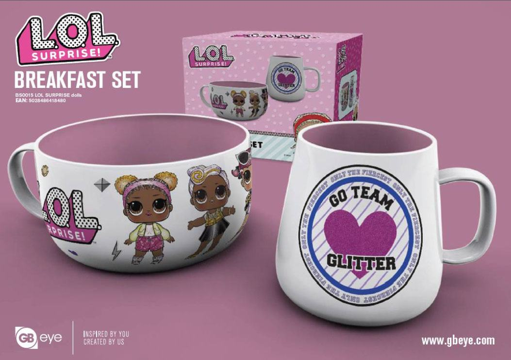 Photo du produit L.O.L. SURPRISE! SET PETIT-DÉJEUNER DOLLS