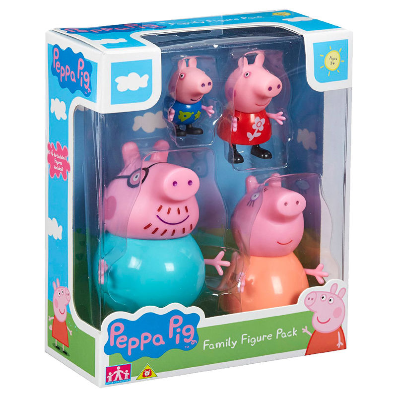 Photo du produit COFFRET 4 FIGURINES PEPPA PIG