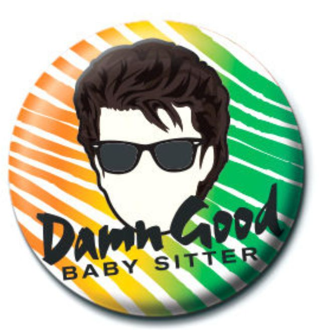 Photo du produit BADGE DAMN GOOD BABY SITTER STRANGER THINGS