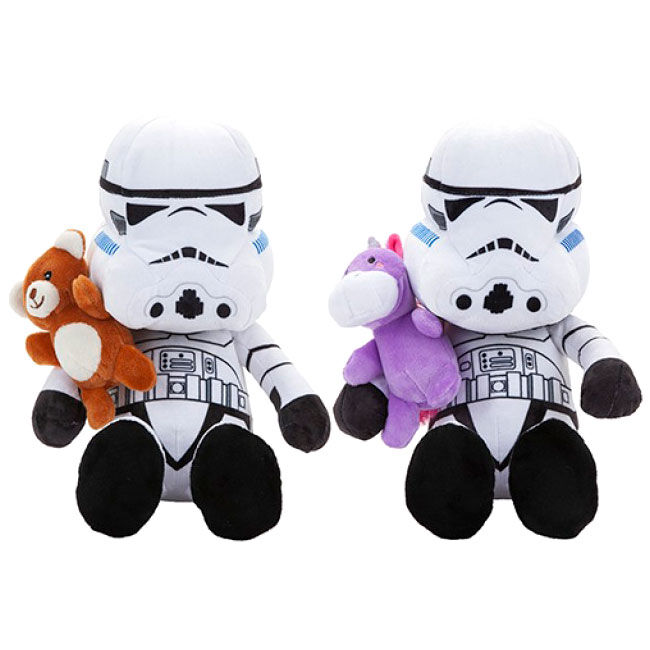 Photo du produit PELUCHE TEDDY STORMTROOPER 30CM