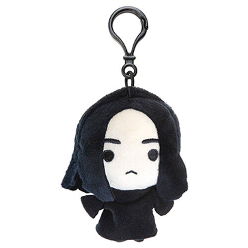 Photo du produit PORTE CLÉ EN PELUCHE HARRY POTTER SEVERUS SNAPE 12CM
