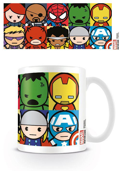 Photo du produit MARVEL COMICS MUG KAWAII CHARACTERS