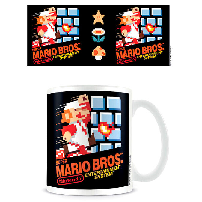 Photo du produit Super Mario Bros. Mug NES Cover