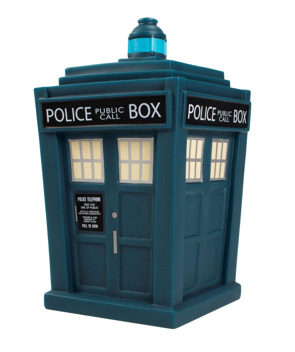 Photo du produit DOCTOR WHO FIGURINE VINYL TITANS 13TH DOCTOR TARDIS NYCC 2018 EXCLUSIVE 16 CM