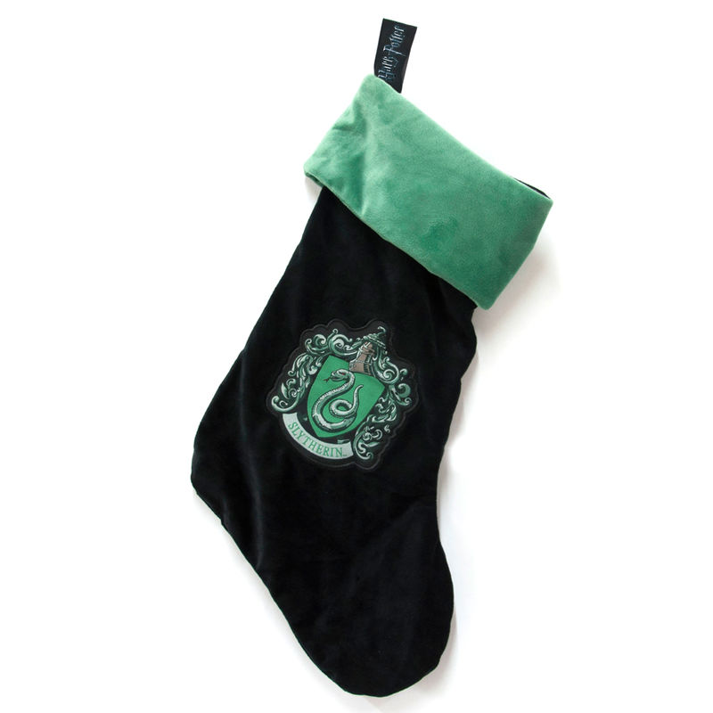 Photo du produit CHAUSSETTE DE NOEL HARRY POTTER SERPENTARD