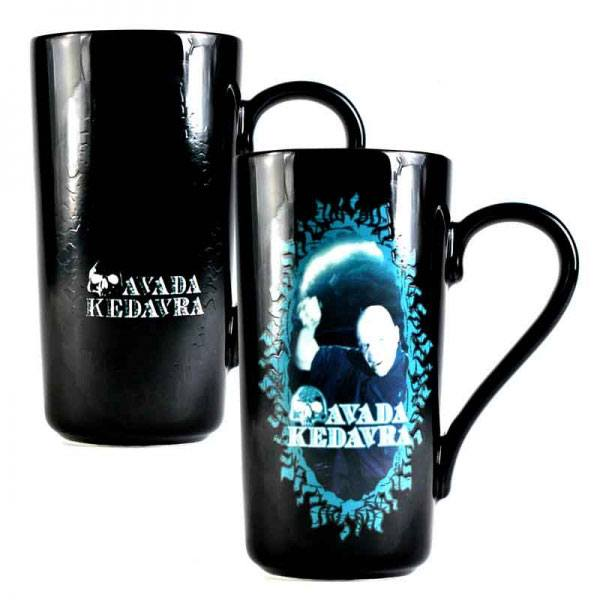 Photo du produit HARRY POTTER MUG LATTE-MACCHIATO THERMIQUE VOLDEMORT