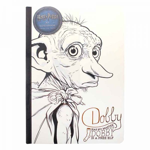 Photo du produit HARRY POTTER CAHIER A5 DOBBY