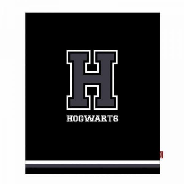 Photo du produit HARRY POTTER COUVERTURE H FOR HOGWARTS 125 X 150 CM