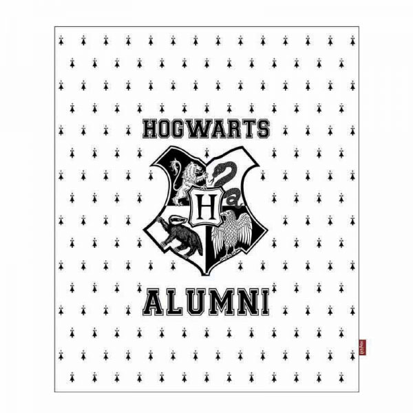 Photo du produit HARRY POTTER COUVERTURE HOGWARTS ALUMNI 125 X 150 CM