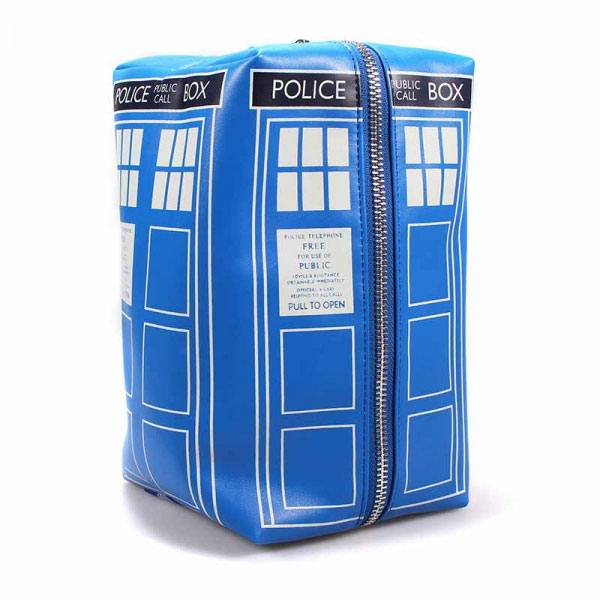 Photo du produit DOCTOR WHO TROUSSE DE TOILETTE TARDIS