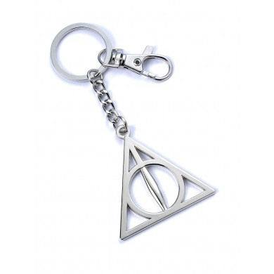 Photo du produit HARRY POTTER PORTE-CLÉS DEATHLY HALLOWS (PLAQUÉ ARGENT)