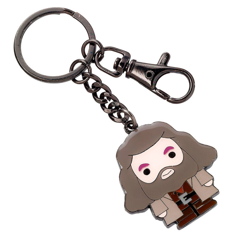 Photo du produit HARRY POTTER PORTE-CLÉS PLAQUÉ ARGENT CUTIE COLLECTION HAGRID