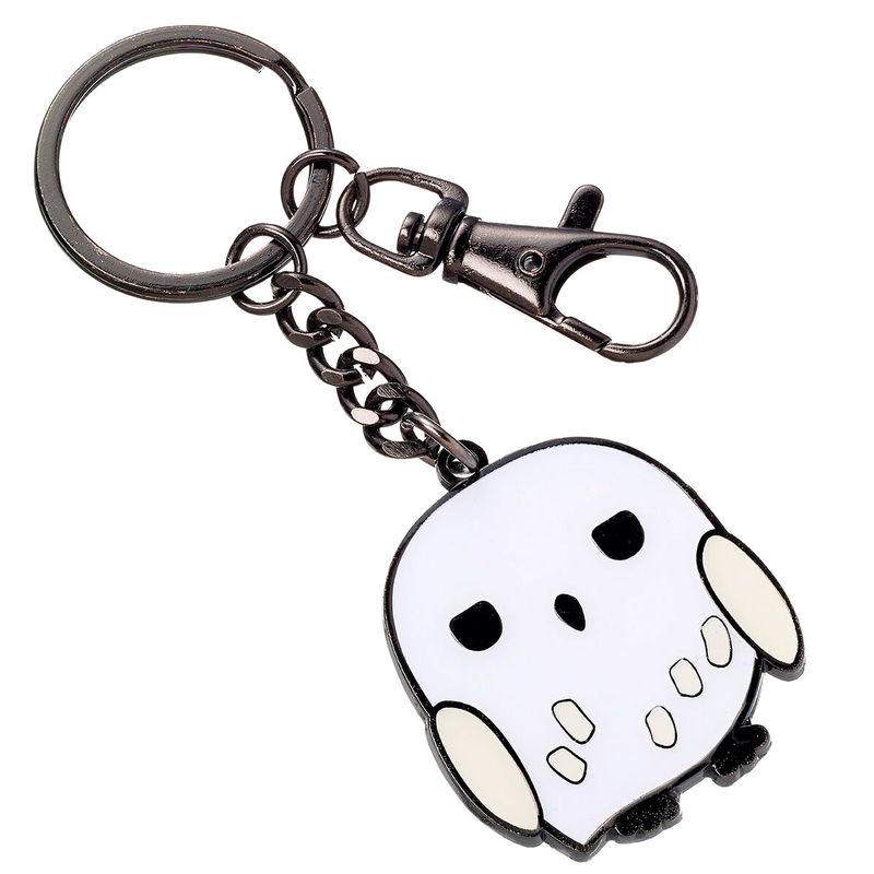 Photo du produit HARRY POTTER PORTE-CLÉS PLAQUÉ ARGENT CUTIE COLLECTION HEDWIG