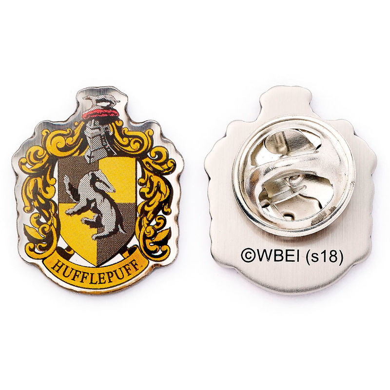 Photo du produit HARRY POTTER BADGE PIN HUFFLEPUFF CREST