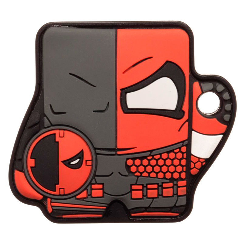 Photo du produit DC COMICS PORTE-CLE FOUNDMI BLUETOOTH DEATHSTROKE 4 CM