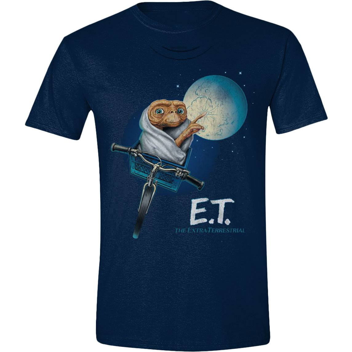 Photo du produit E.T. L´EXTRA-TERRESTRE T-SHIRT MOON BICYCLE