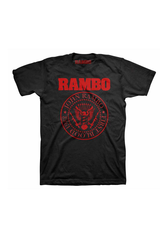 Photo du produit RAMBO T-SHIRT FIRST BLOOD