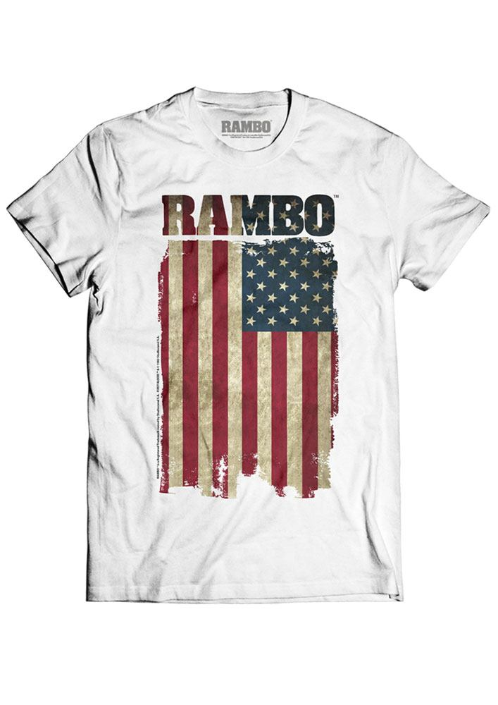 Photo du produit RAMBO T-SHIRT FLAG
