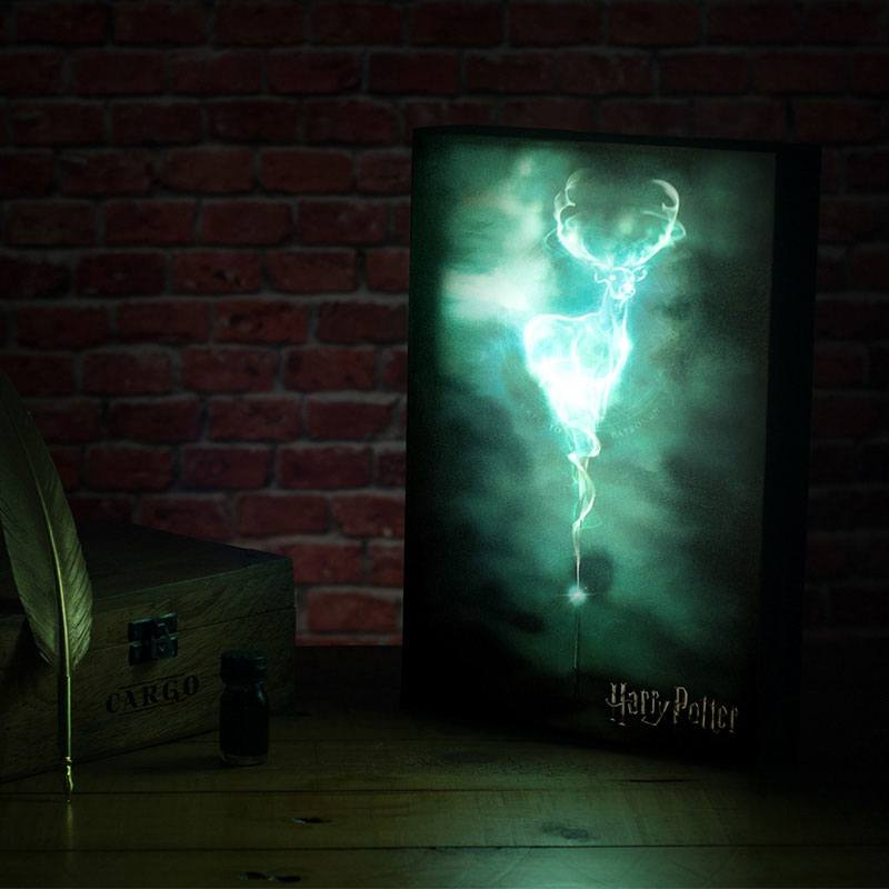 Photo du produit VEILLEUSE HARRY POTTER LUMINART PATRONUS 30 CM