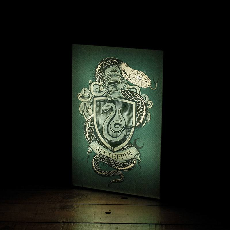Photo du produit VEILLEUSE HARRY POTTER LUMINART SLYTHERIN 30 CM