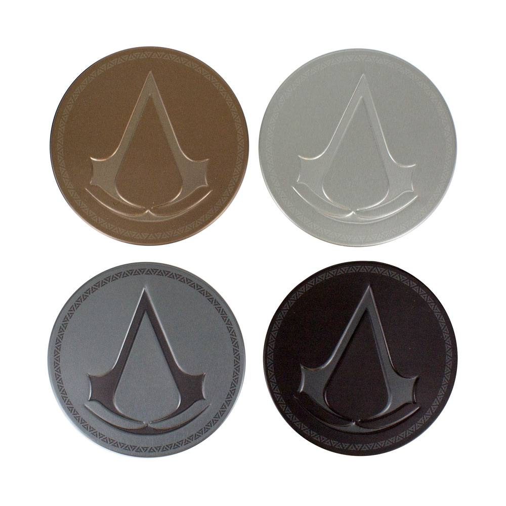 Photo du produit PACK 4 SOUS-VERRES ASSASSIN'S CREED