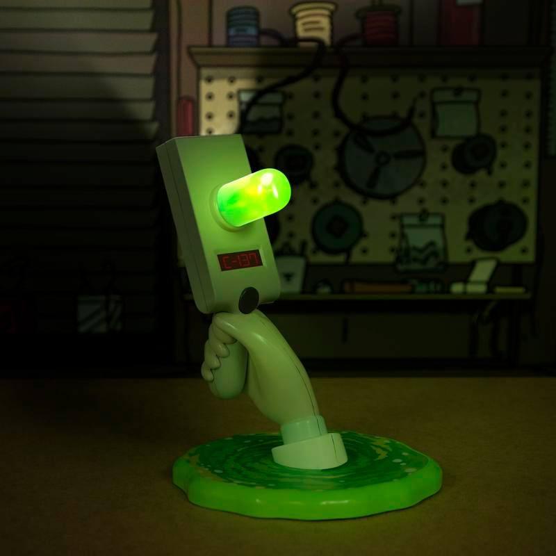 Photo du produit RICK & MORTY LAMPE USB PORTAL GUN