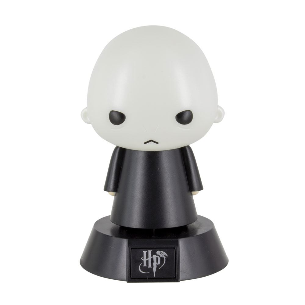 Photo du produit HARRY POTTER VEILLEUSE 3D ICON VOLDEMORT 10 CM
