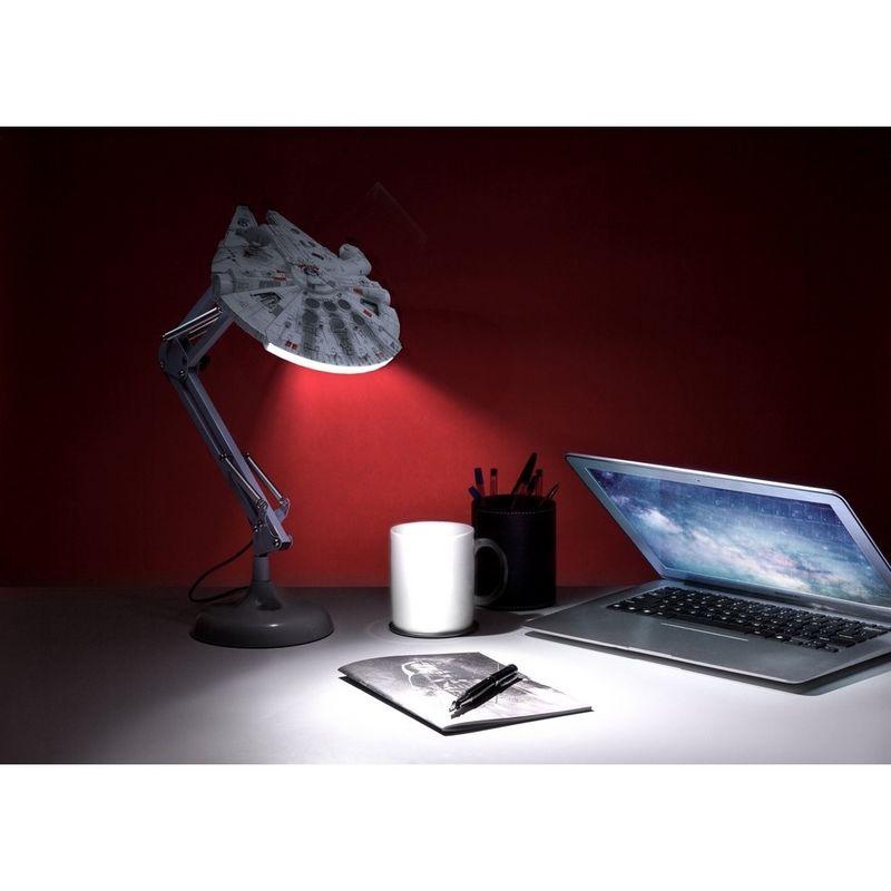 Photo du produit STAR WARS LAMPE USB MILLENNIUM FALCON 60 CM