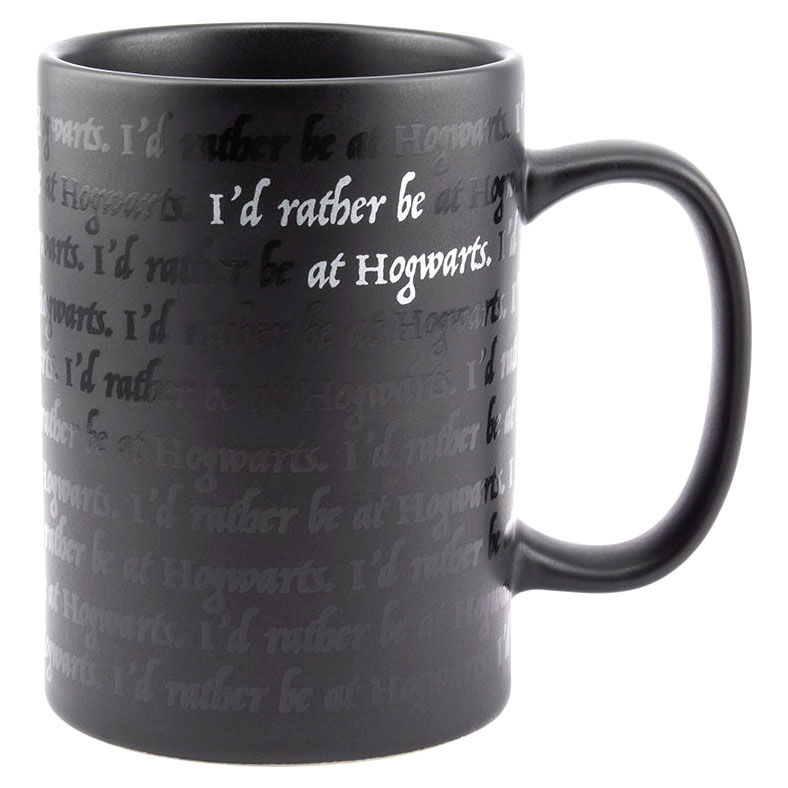 Photo du produit HARRY POTTER MUG I WOULD RATHER BE AT HOGWARTS