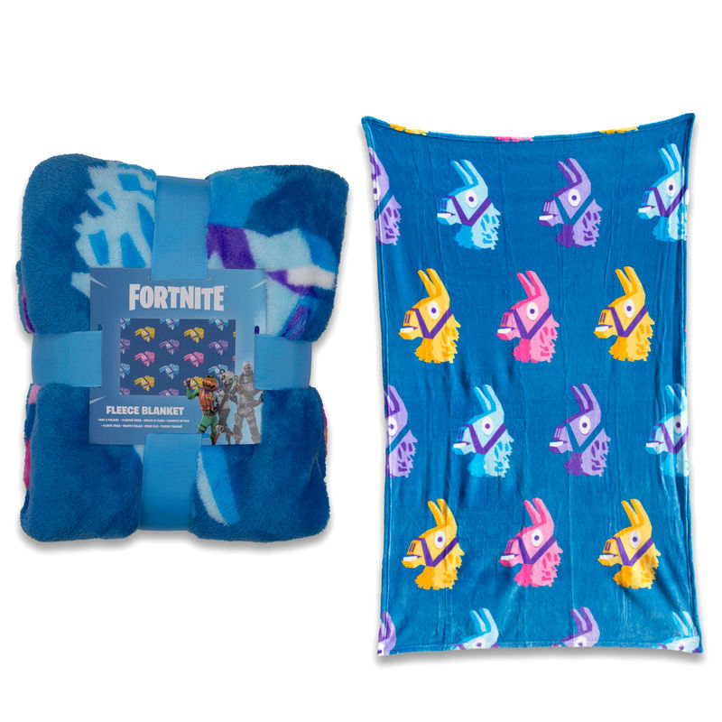 Photo du produit PLAID POLAIRE FORTNITE LLAMA 150 CM