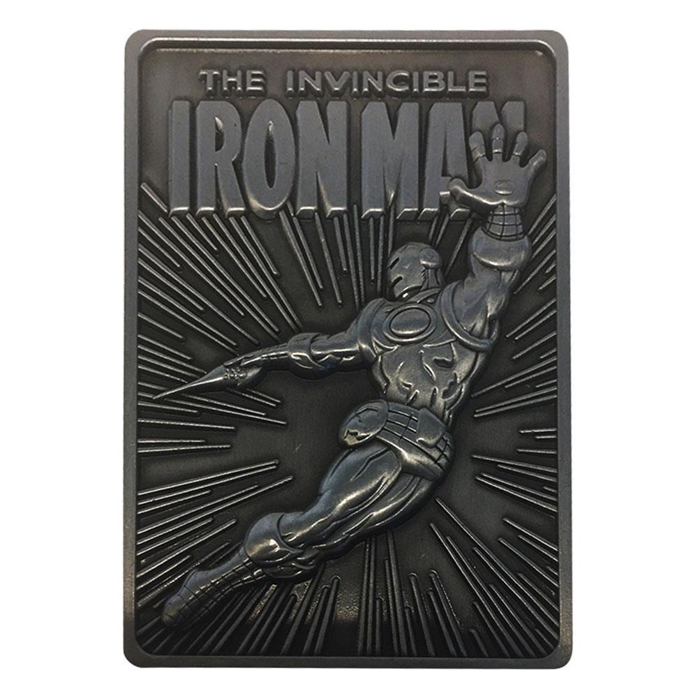 Photo du produit Marvel Lingot Iron Man Limited Edition