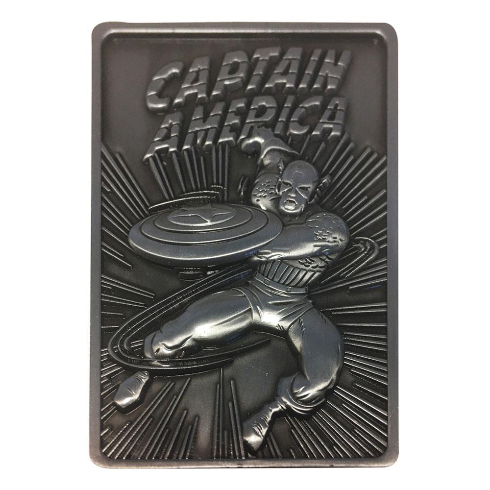 Photo du produit Marvel Lingot Captain America Limited Edition