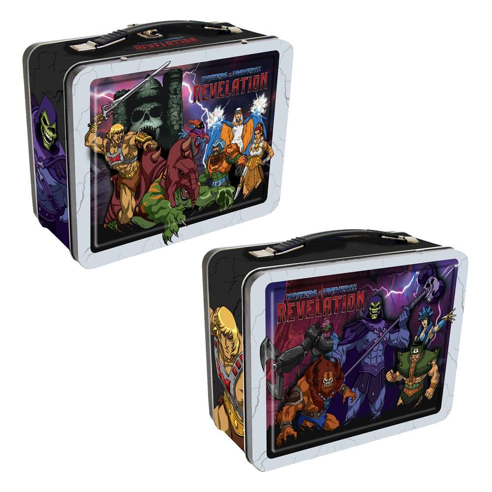 Photo du produit Masters of the Universe - Revelation boîte métal Heroes And Villains