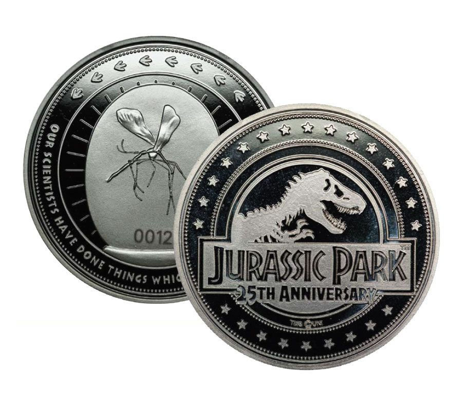 Photo du produit PIECE DE COLLECTION JURASSIC PARK 25TH ANNIVERSARY