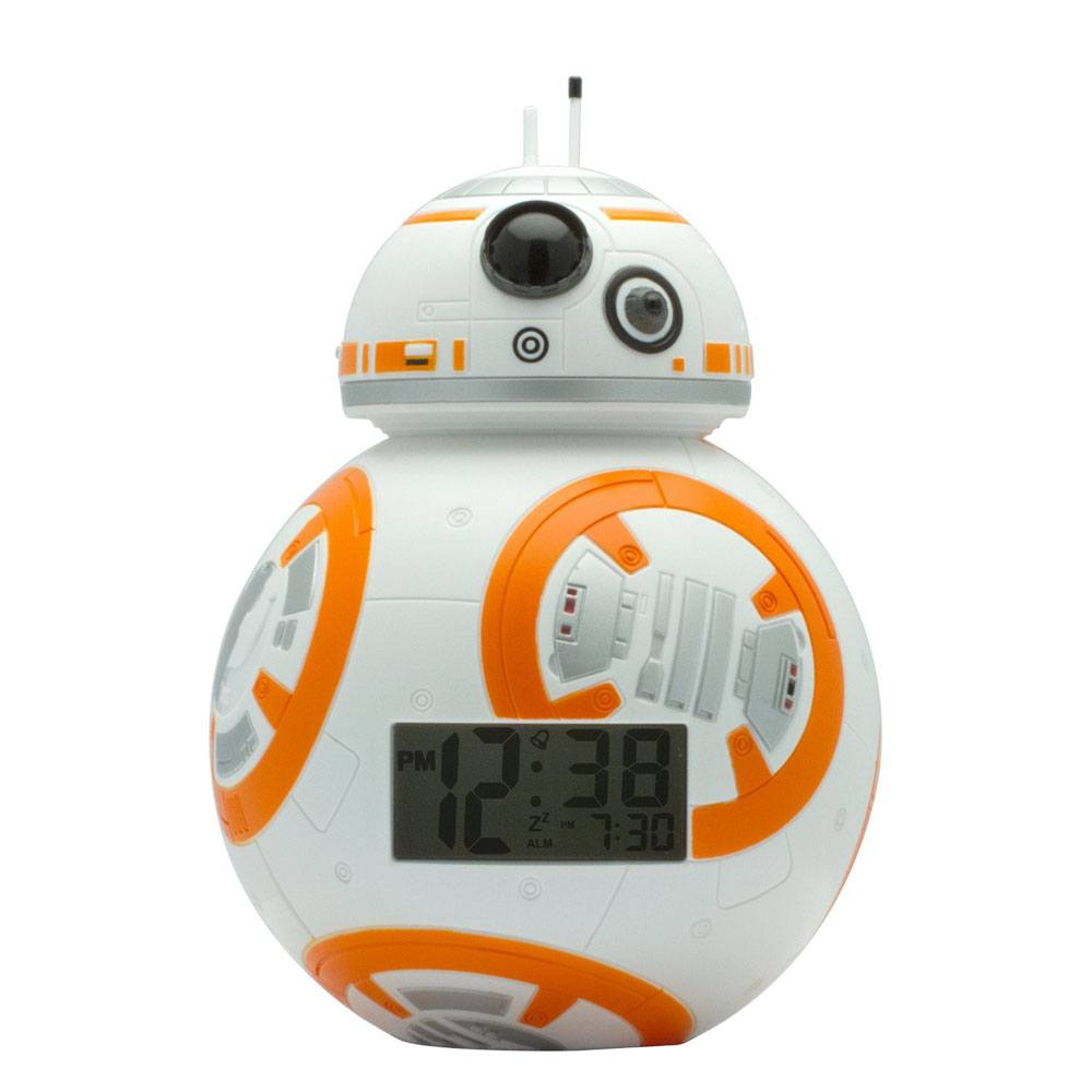 Photo du produit STAR WARS REVEIL LUMINEUX BULBBOTZ BB-8 14 CM
