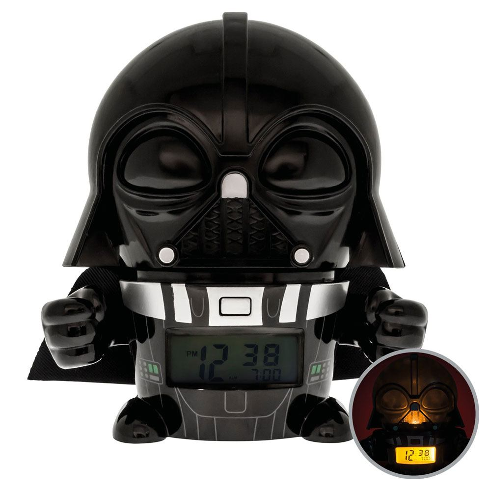 Photo du produit STAR WARS REVEIL LUMINEUX BULBBOTZ DARTH VADER 14 CM