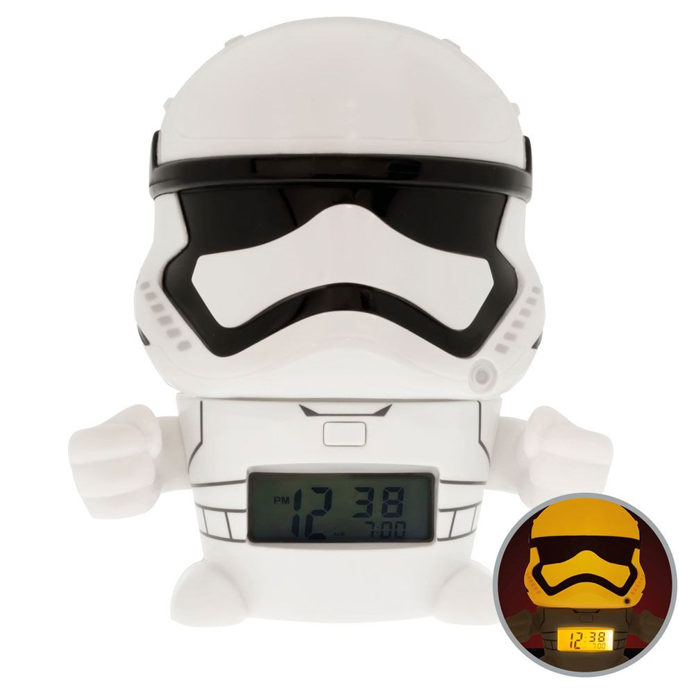 Photo du produit STAR WARS REVEIL LUMINEUX BULBBOTZ STORMTROOPER 14 CM