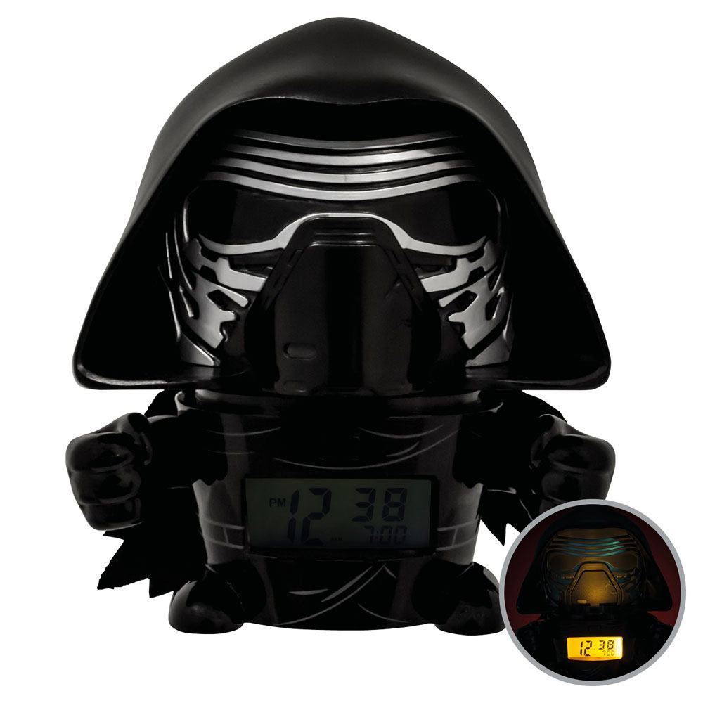 Photo du produit STAR WARS REVEIL LUMINEUX BULBBOTZ KYLO REN 14 CM