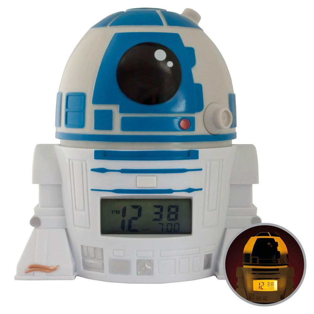 Photo du produit STAR WARS REVEIL LUMINEUX BULBBOTZ R2-D2 14 CM