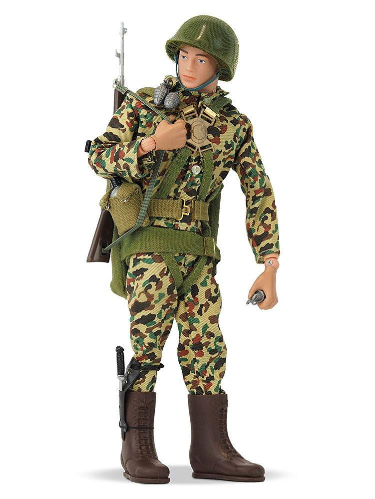 Photo du produit FIGURINE ACTION MAN 50TH ANNIVERSARY PARATROOPER 30 CM
