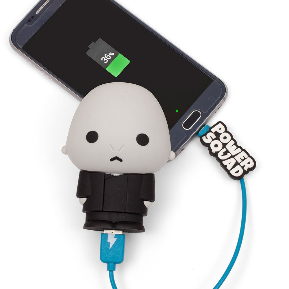 Photo du produit CHARGEUR HARRY POTTER LORD VOLDERMORT POWER BANK POWERSQUAD 2500MAH