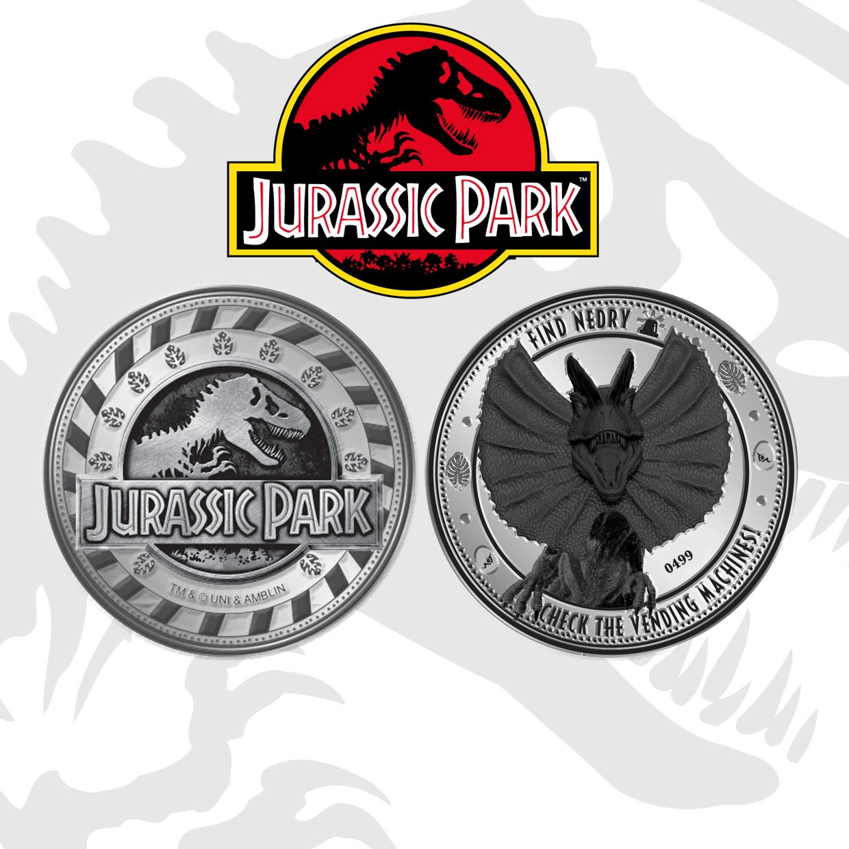 Photo du produit JURASSIC PARK PIÈCE DE COLLECTION FIND NEDRY