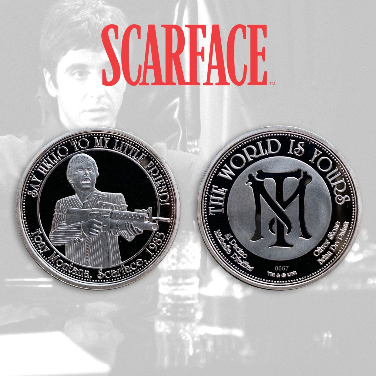 Photo du produit SCARFACE PIÈCE DE COLLECTION THE WORLD IS YOURS