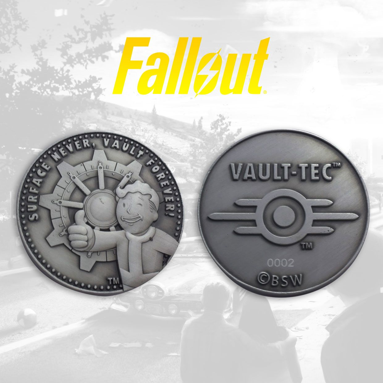 Photo du produit FALLOUT PIÈCE DE COLLECTION VAULT-TEC