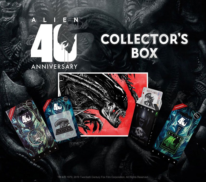 Photo du produit ALIEN 40TH ANNIVERSARY COFFRET CADEAU COLLECTOR