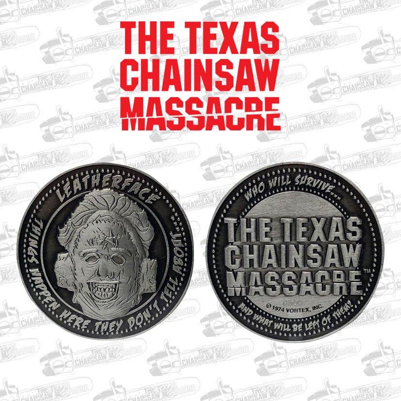 Photo du produit Massacre à la tronçonneuse pièce de collection Leatherface Limited Edition
