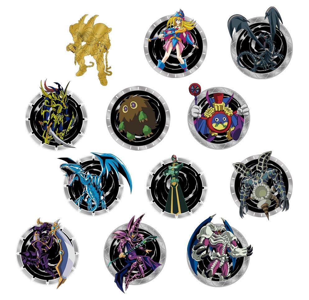 Photo du produit Yu-Gi-Oh! présentoir de 12 badges