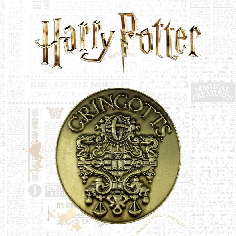 Photo du produit Harry Potter médaillon Gringotts Crest Limited Edition