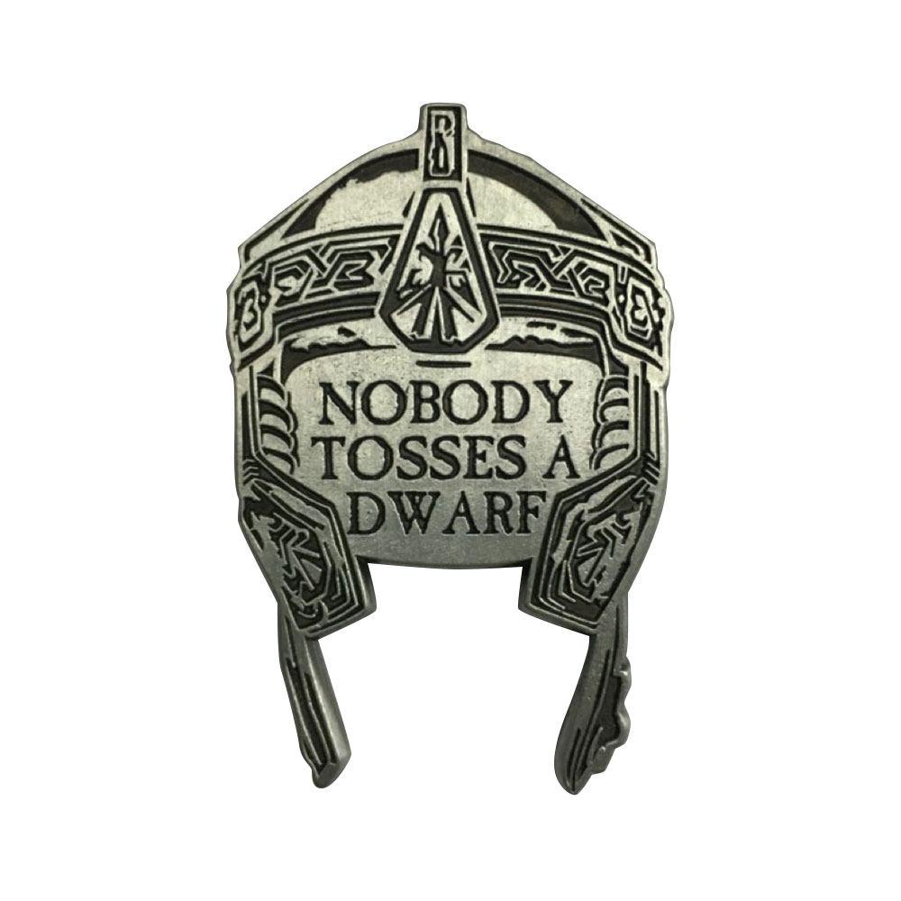 Photo du produit Le Seigneur des Anneaux pin's Gimli's Helmet Limited Edition
